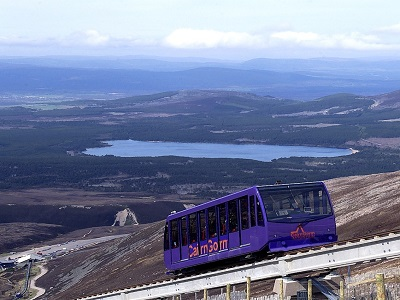 the cairngorm funicular railway