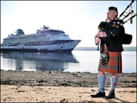 scottish piper invergordon shore excursions
